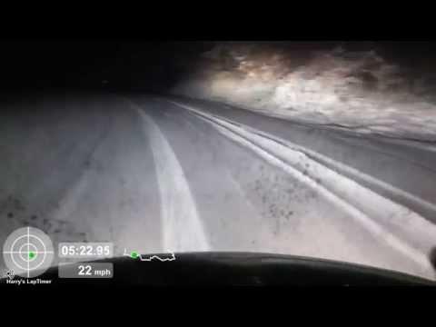 Snow Driving in a 2004 Mini Cooper S