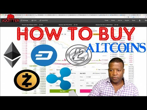 Cryptocurrency - How To Buy Altcoins