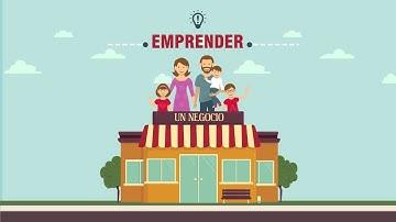 video emprendimiento animado