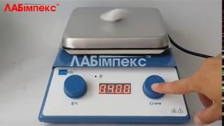 RIVA-03.1 магнитная мешалка с подогревом (Украина)