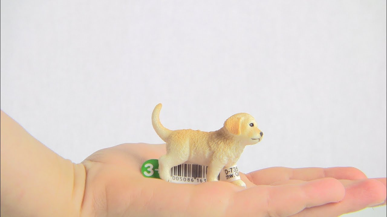 Golden Schleich Retriever Puppy