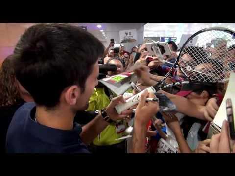 Shanghai Rolex Masters - Novak Djokovic arrival