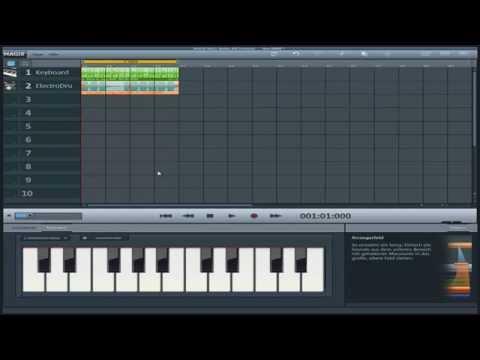[Tutorial] Magix Music Maker Grundlagen #1 [HD] [TuneSection]