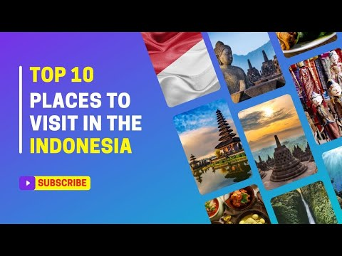 Download Top 10 Best Places To Visit In Indonesia | Travel Video