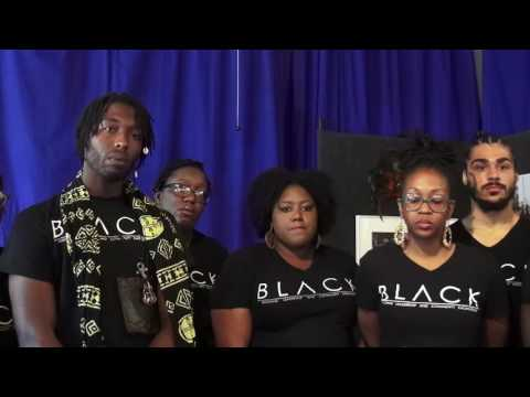B.L.A.C.K. Press Conference Addressing Arrest of 73 Peaceful Protesters