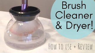 How to Use & Review Makeup Brush Cleaner & Dryer | StylPro Dupe