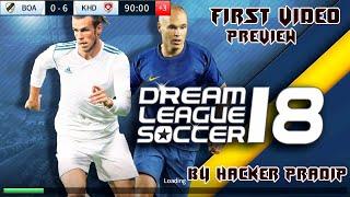 Dream League Soccer 2018 Hack Mod Game Preview By Mr.hacker pradip khd