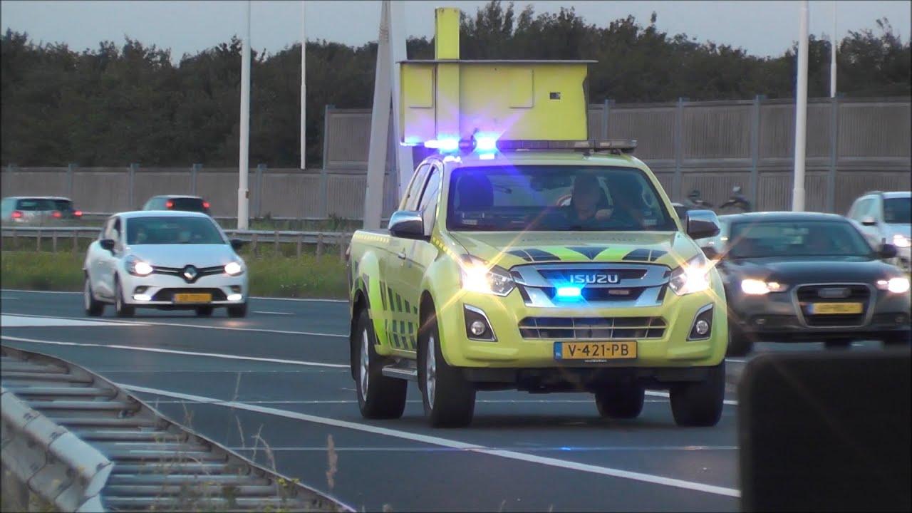Rijkswaterstaat, Politie en Ambulance over de snelweg naar meldingen! #1149
