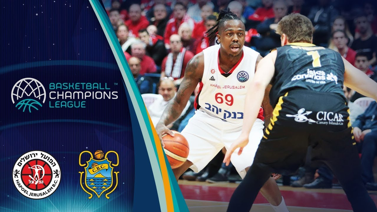 Hapoel Jerusalem v Iberostar Tenerife - Full Game - Qtr-Final - Basketball Champions League 2018