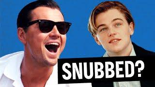 8 Times Leonardo DiCaprio GOT SNUBBED For an Oscar (Throwback)