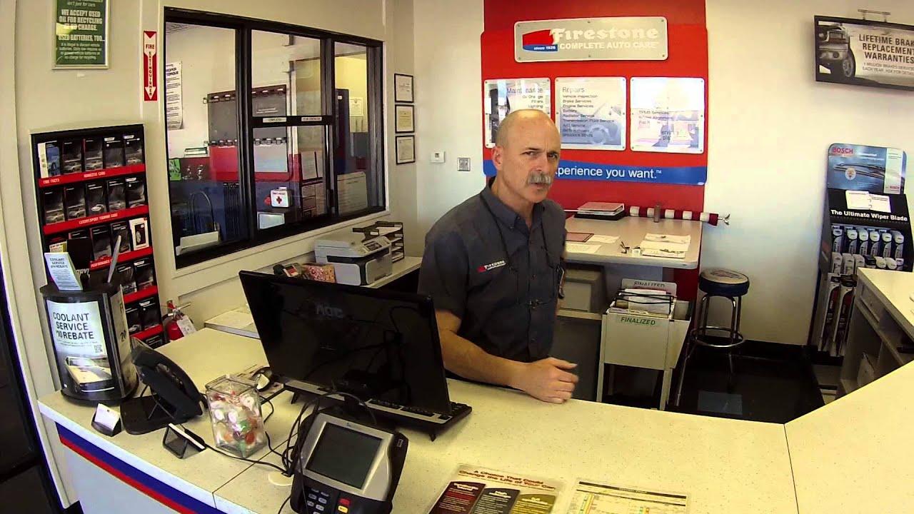 Customer Waiting Area Firestone Complete Auto Care Store