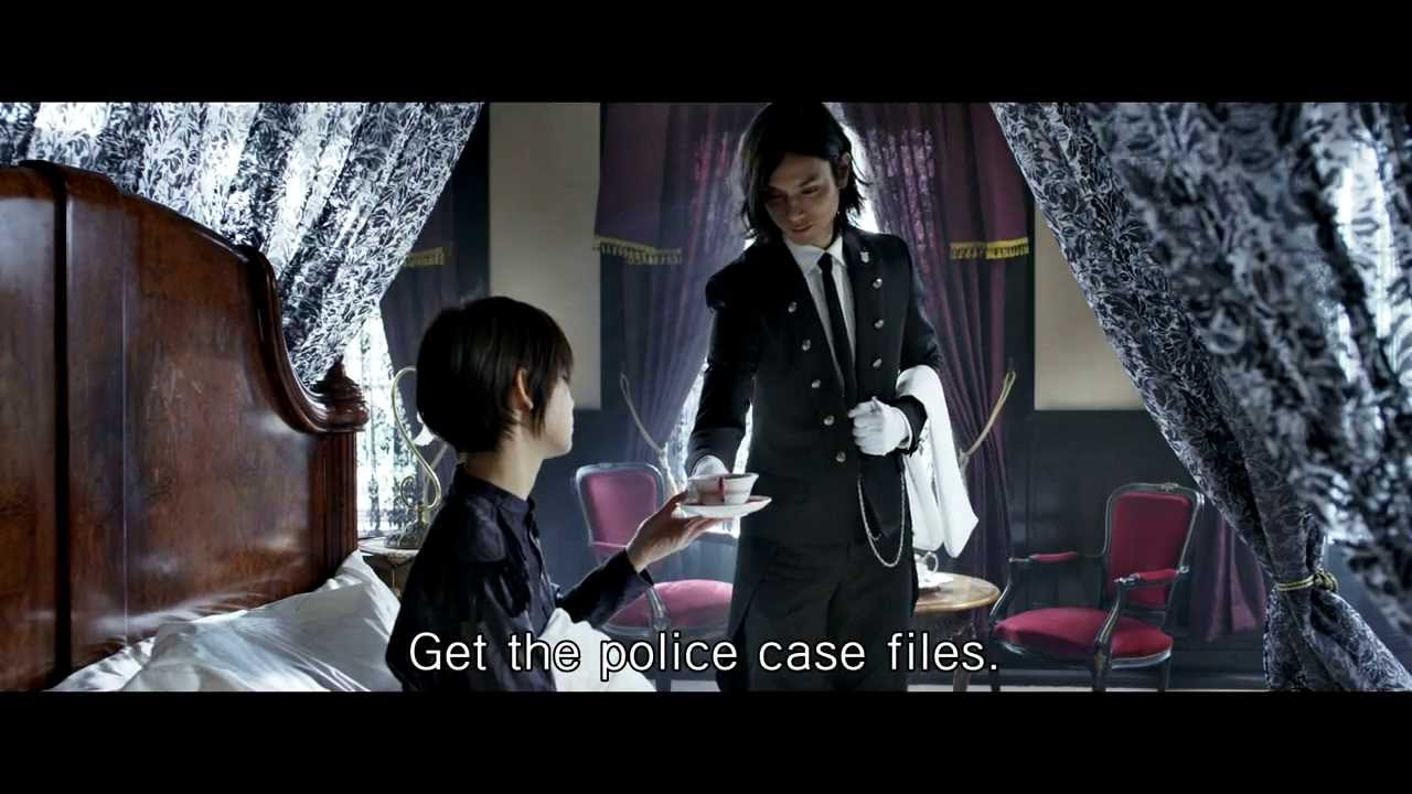 Black Butler International Trailer English Subtitled Youtube