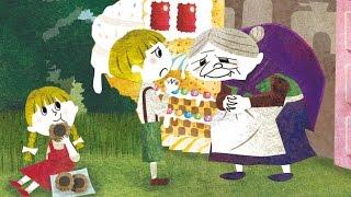 グリム童話の名作、「ヘンゼルとグレーテル」を絵本にしました。お菓子...