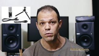 Neste video falo um pouco sobre microfones usb e em especial ao mic...