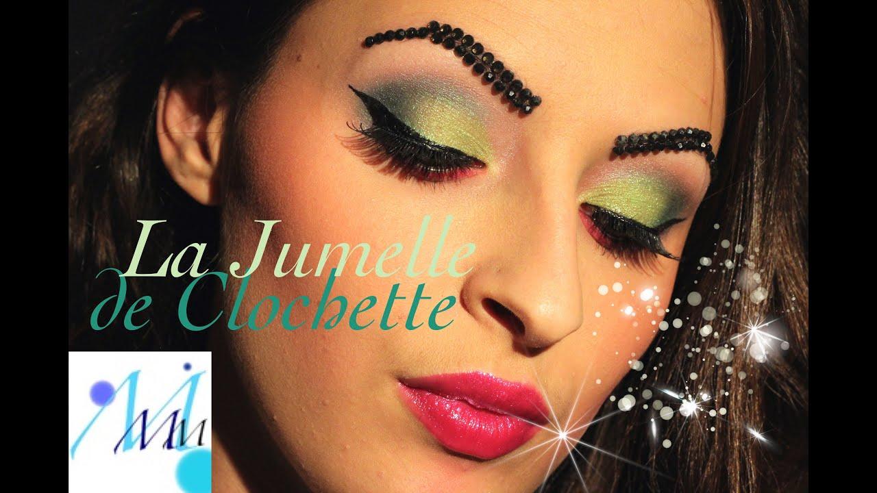 Maquillage Halloween  La jumelle de Clochette