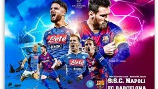Napoli vs barcelona whatsapp status ucl is back messi match...