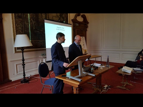 2017 FoMA Madingley Conference: Session 2: Sergey Shumilo