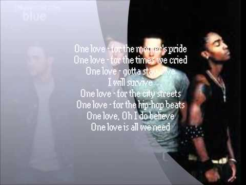 Blue  One Love {LYRICS}
