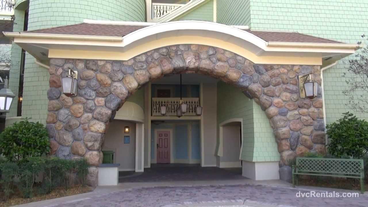 Saratoga Springs Spa Walt Disney World