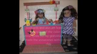 HTM American Girl Kanani's shaved ice stand Thumbnail