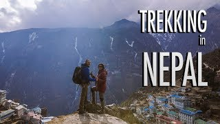 TREKKING in NEPAL | EVEREST VIEW TREK | EXPLORELOVECREATE