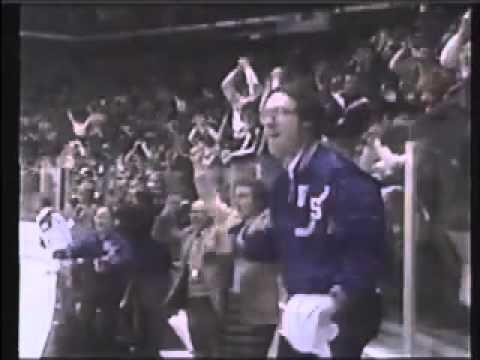 USA's Eruzione scores winning goal vs. USSR 1980 Olympics, alternate radio call
