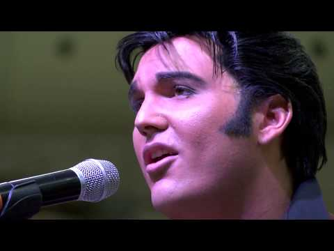 Elvis Tribute Artist - Cody Ray Slaughter - 2017 W.C. Fair