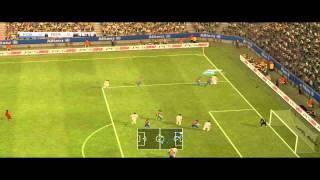 Pro Evolution Soccer (PES) 2012 - FC Barcelona v Real Madrid - Gameplay