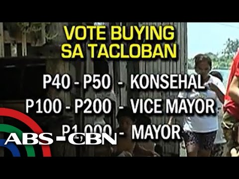 TV Patrol: Vote-buying, talamak sa Tacloban
