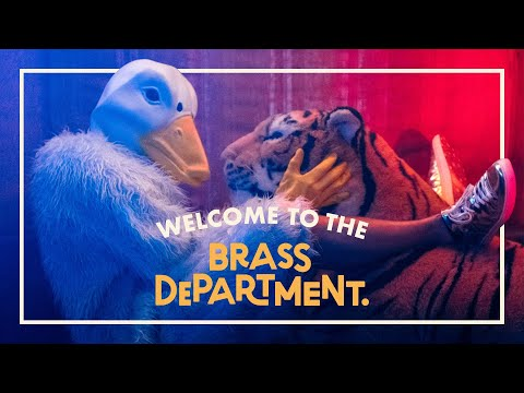 BRASS DEPARTMENT - Welcome To The Brass Department Feat. Marena Whitcher & Rootwords [OFFICIAL]