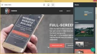 How to add Cookies Alert in Mobirise Website Builder Software v2.10 thumbnail