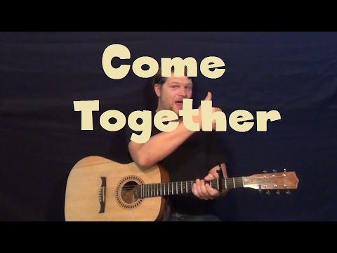 Come Together (The Beatles) Easy Strum Guitar Lesson
