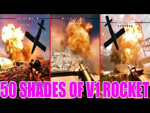 Battlefield V - 50 Shades Of V1 Rocket                        (V1 Compilation) |