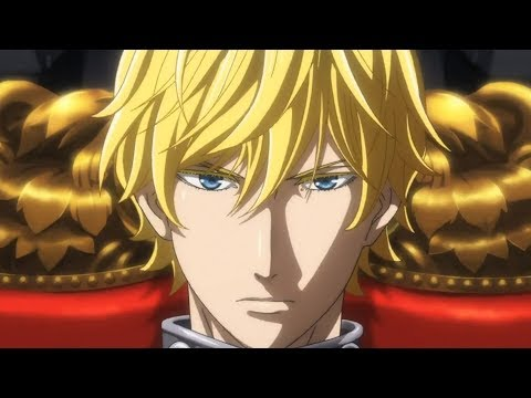 FIRST LOOK: Legend of the Galactic Heroes 2018 Trailer - Production IG - 銀河英雄伝説 2018