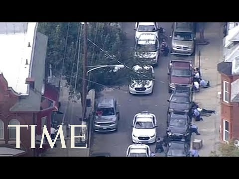 Gunman In Custody After Wounding At Least Six Police Officers In Philadelphia Shooting | TIME