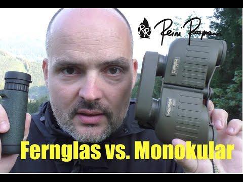 Fernglas oder Monokular: Was ist besser?