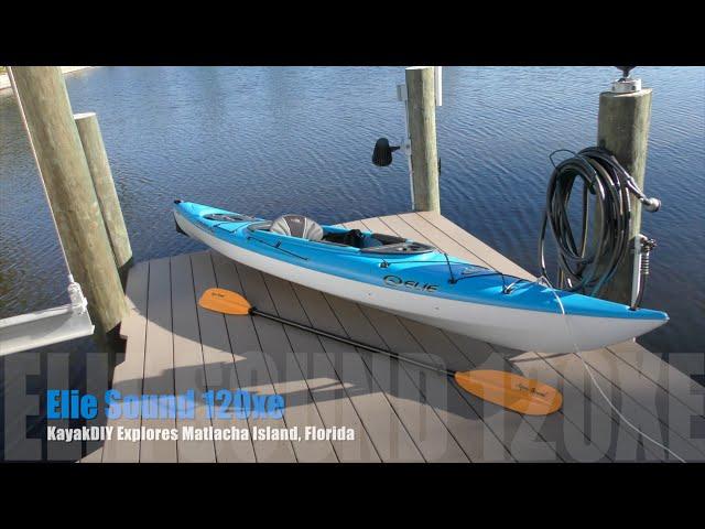 Elie Sound 120xe Kayak at Matlacha Island , FL