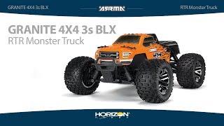 ARRMA GRANITE 4X4 3S BLX RTR Monster Truck