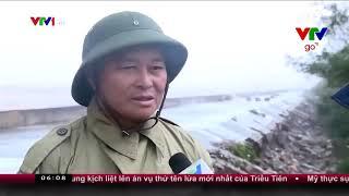 Khắc phục vỡ kè đê bao ở Nam Định