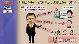 [백운기의 뉴스와이드] 새보수당에 화환 대신 난? 황교안 '통합추진위' 공식화 의도는?