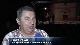 51. Brodsko kolo - Svečani koncert Folklornog ansambla Broda (Slavonski Brod 2015)