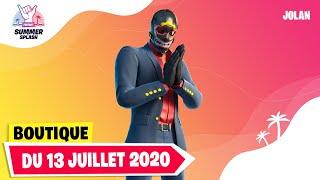 BOUTIQUE FORTNITE du 13 Juillet 2020 ! ITEM SHOP July 13 2020 !