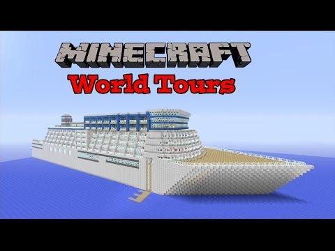 Minecraft Xbox - Epic Cruise Ship! - World Tours Ep.1