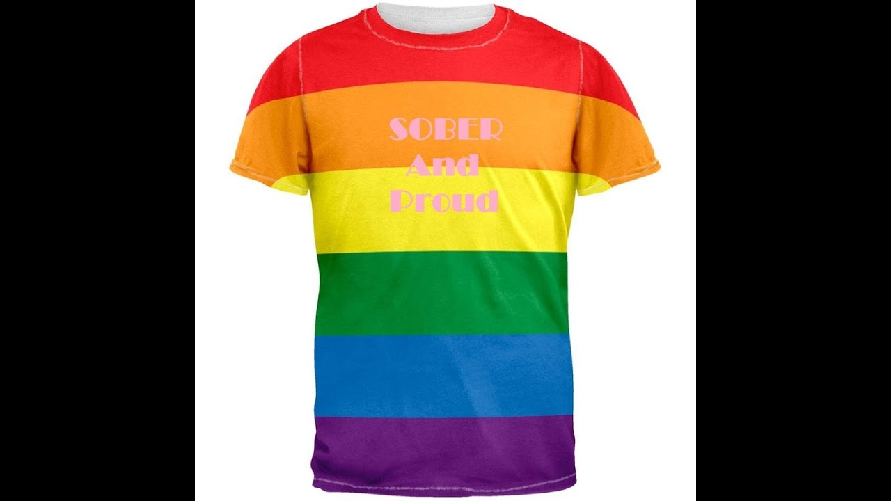pride t shirts sobriety pride t shirts on kickstarter youtube. Black Bedroom Furniture Sets. Home Design Ideas
