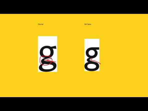 Humanist Sans Serif: Fontribute Review of Diurnal and Gill Sans