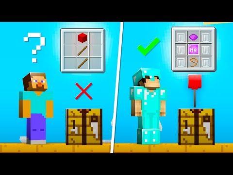 20 Crafting Recipes That ONLY PROS Know in Minecraft 1.16!
