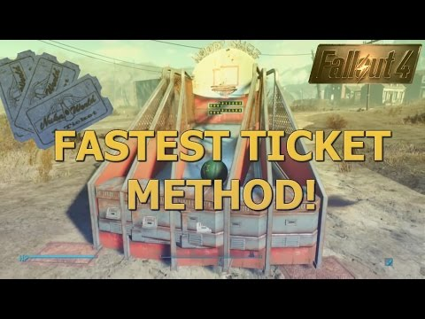 Fallout 4 - Nuka World - Eyes on the Prize Achievement - Fastest Ticket Method *Updated