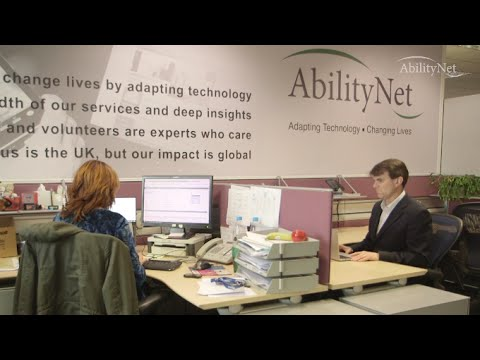We Are UK Charity AbilityNet - What We Do