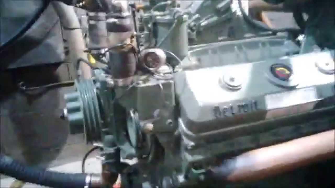 Detroit Diesel 8v71  Dyno Run