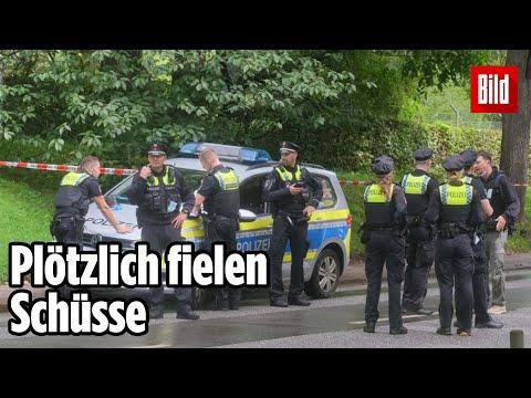 Polizei-Einsatz in Hamburg: Schießerei direkt in der Innenstadt